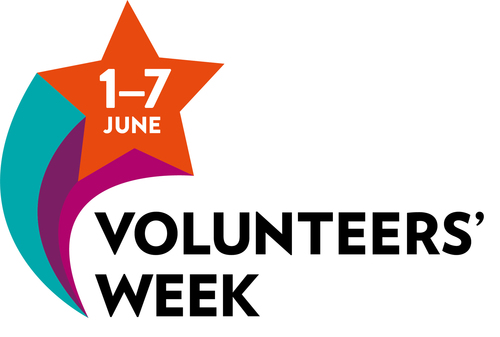 NCVO Volunteer week Logo 2018
