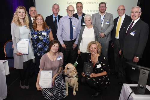 SDA Winner Most Innovative Partnership Dementia Dog