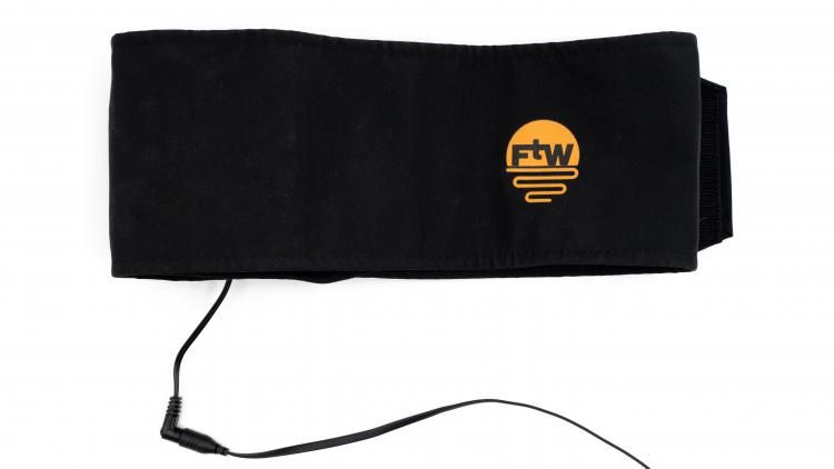 A material belt worn around your waist which maintains comfortable body temperature via a battery