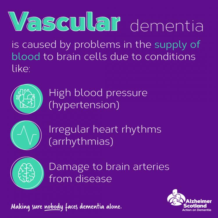 Vascular dementia   Alzheimer Scotland